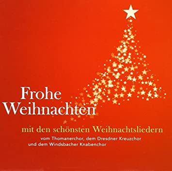 Frohliche weihnachten lied text