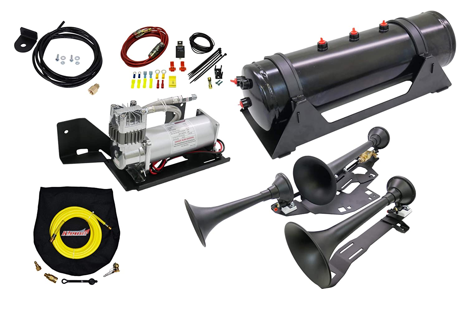 Kleinn Air Horns RPTR-734 Train Horn Kit