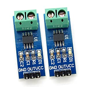 2 X 5A Range Electrical Parts Current Sensor Module ACS712