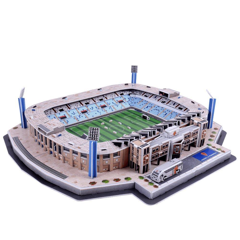 ELEVEN FORCE- Real Puzzle Estadio 3D La Romareda (R. Zaragoza) (63102), Ninguna (1)