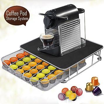 beyondfashion 36 Máquina de Café Soporte Cápsula Cápsula Nespresso Dolce Gusto almacenaje Cajón: Amazon.es: Hogar