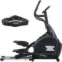 SKANDIKA CardioCross Carbon Pro - Vélo elliptique - Masse d'inertie: 23,5 kg - Poids Max. 145kg - 19 Programmes - Sangle Cardio Incluse