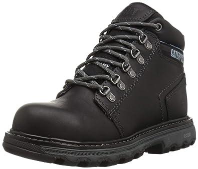 Caterpillar Womens Ellie Steel Toe Work Boot, Black, ...