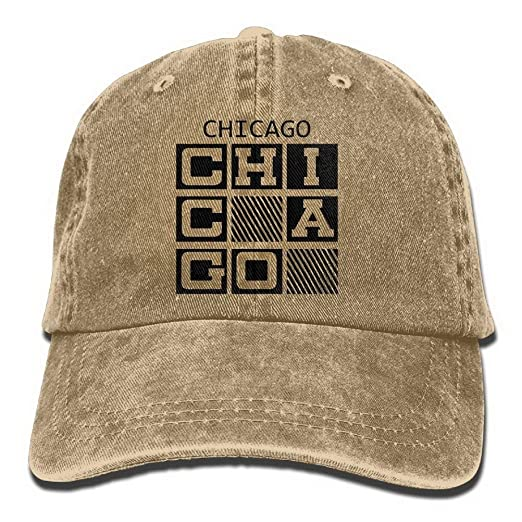Amazon.com  Ufcell Chicago Caps Unisex Adult Adjustable Baseball Cap ... 66c8945f635