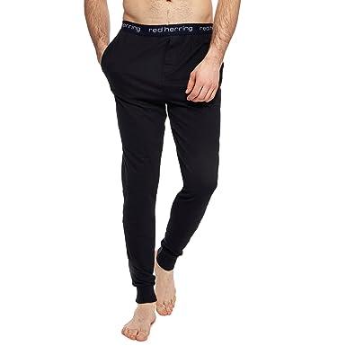 Cuffed pajama bottoms