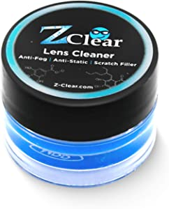 Anti Fog Paste for Eye & Sunglasses - 1 Pack, Anti Static Glass & Lens Cleaning Paste - Fog Free Scratch Filler That Repels Dust & Dirt - Clean & Protect Eyewear, Goggles, Screens & Masks