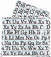 Sugarbooger Jumbo Floor Splat Mat, Vintage Alphabet
