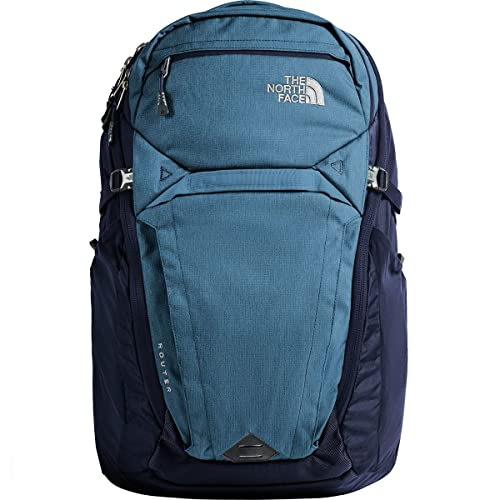 North Face Router, Mochila Unisex Adultos, Multicolor (Dishblulighthtr/Urba) 22x34.