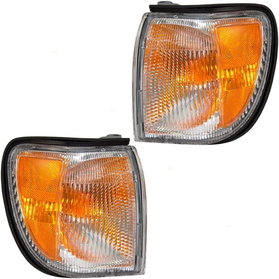 BMW 3 Series M3 Set of Corner Park Signal Marker Lights 63137165857 63137165858