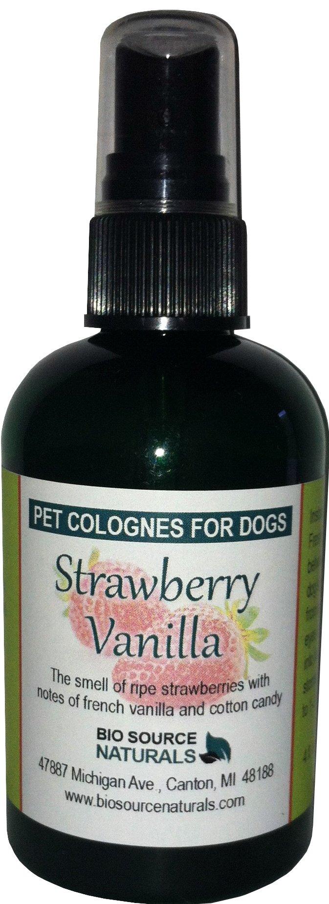 Strawberry Vanilla Pet - Dog Cologne Spray (4 oz/ 120 ml)