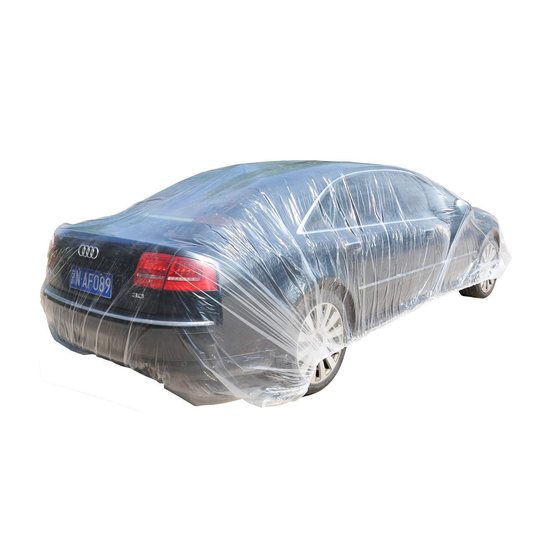 Cubierta transparente de protección para el coche. 670x366cm.