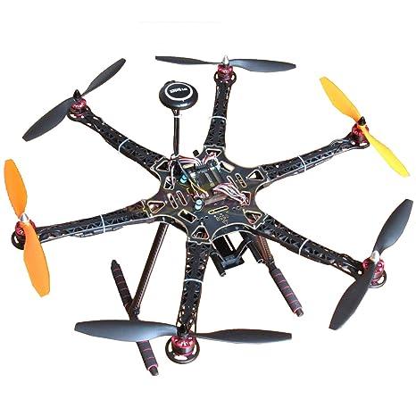 Hobbypower DIY S550 Hexacopter Frame with APM2 8 Flight Controller 7M GPS +  HP2212 920KV Brushless Motor & Simonk 30A ESC