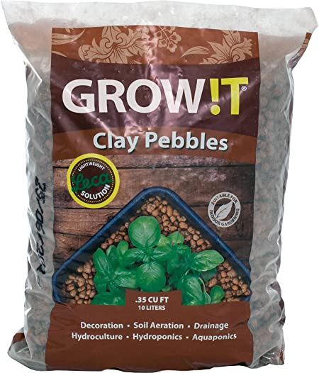 Hydroponics Baby Plant Strong Root Natural Growing Soil Plants Perlite 10 Liter