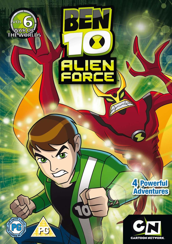Amazon.com: Ben 10 Alien Force - Volume 6 [DVD]: Yuri Lowenthal ...