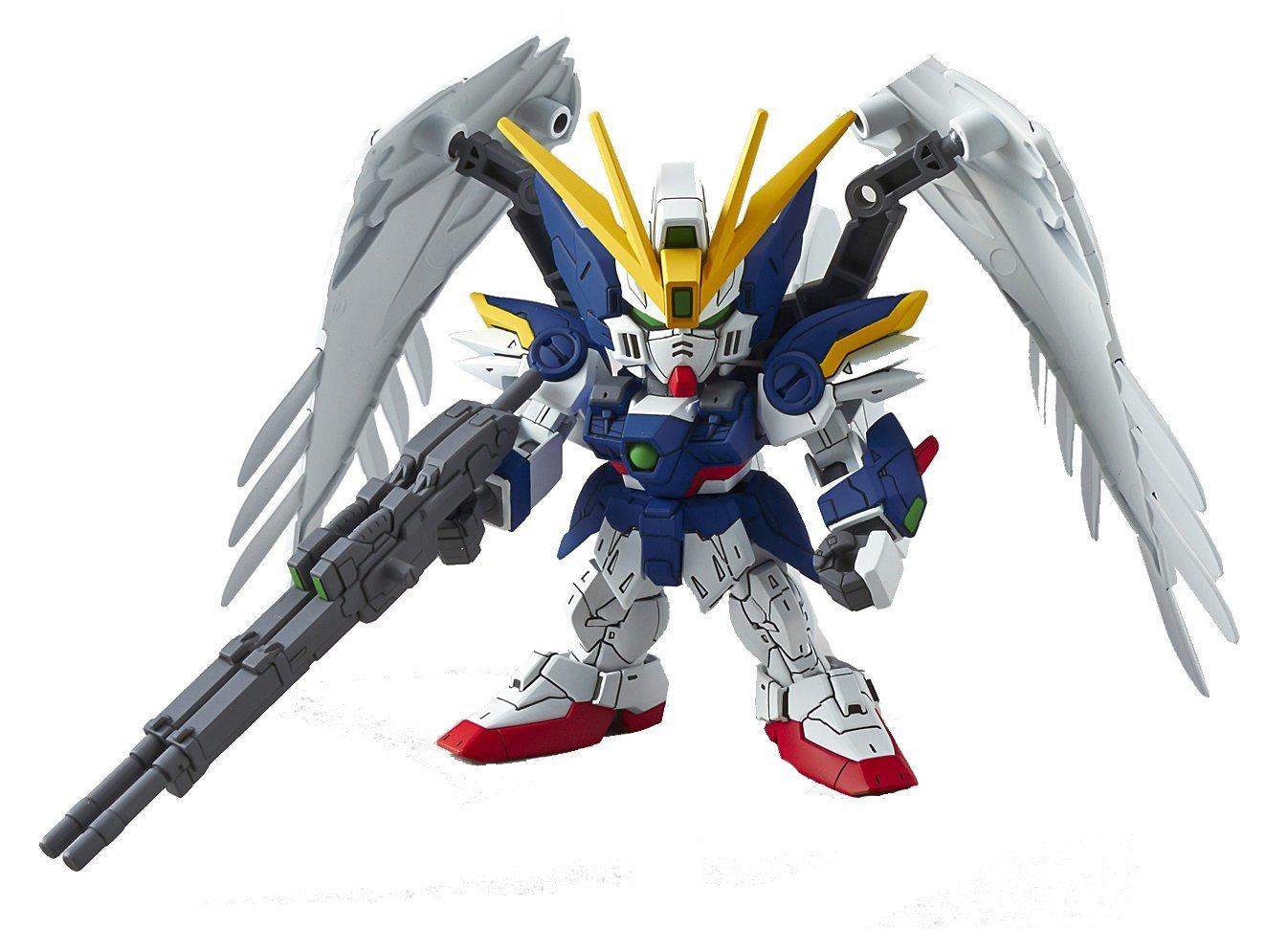 Bandai Hobby SD EX-Standard Wing Gundam Zero Version EW Action Figure