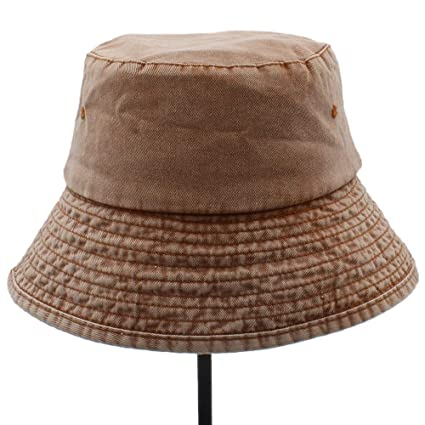 e2b5724e Amazon.com : YChoice A Superb hat Cotton Women Men Wide Brim Bucket ...