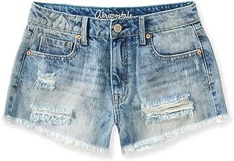 Amazon Com Aeropostale Pantalones Cortos De Mezclilla Para Mujer Clothing