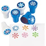 SNOWFLAKE Stampers - 24 pc - Christmas holiday craft scrapbooking