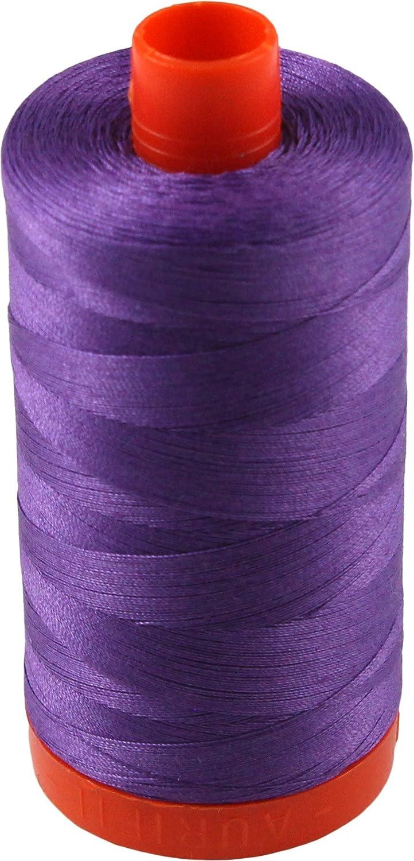 New AURIFIL Large Spool Thread 4225 50 wt 1422 yards Eggplant