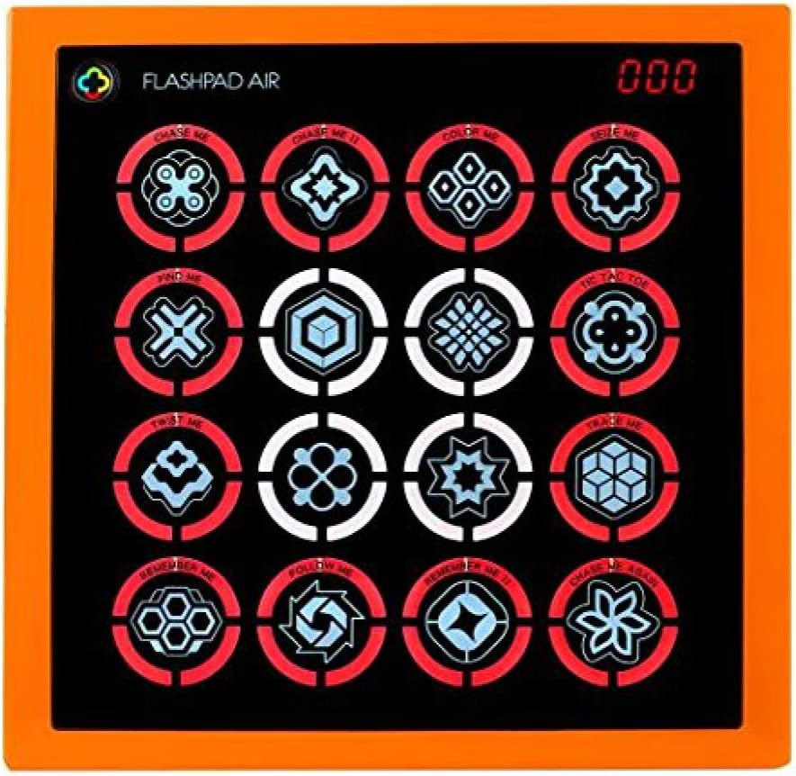 ORANGE Electronic Handheld Game System Flash Pad Air Touch