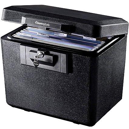 SentrySafe 1170 Fireproof Box with Key Lock 0 61 Cubic Feet