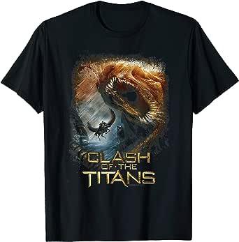 Amazon.com: Clash of the Titans Kraken Clash T-Shirt: Clothing