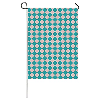Amazon.com: ALUONI Geometrical Utility Garden Flag,Vintage ...