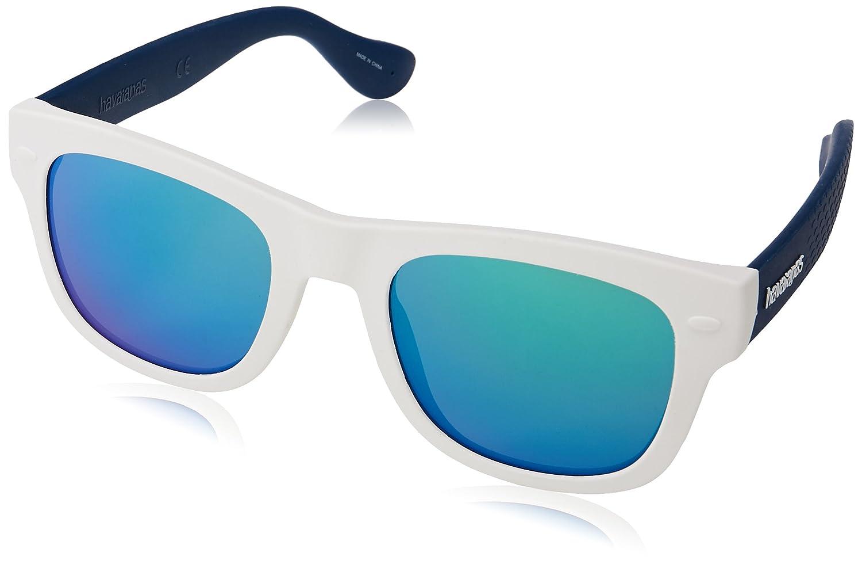 Bianco Adulto PARATY//M Z9 QT1 50 Occhiali da sole White Blue//Bluette Havaianas Unisex