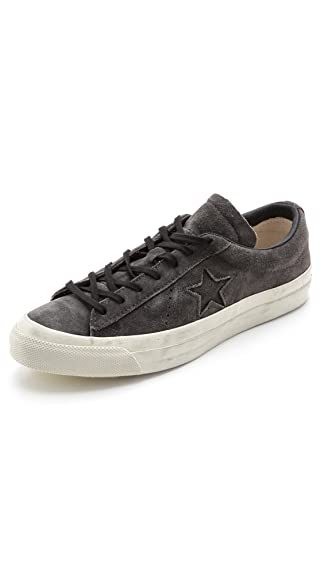 newest 8d70f 23aba Converse By John Varvatos - Sneakers - Men - John Varvatos One Star Grey Ox  Suede