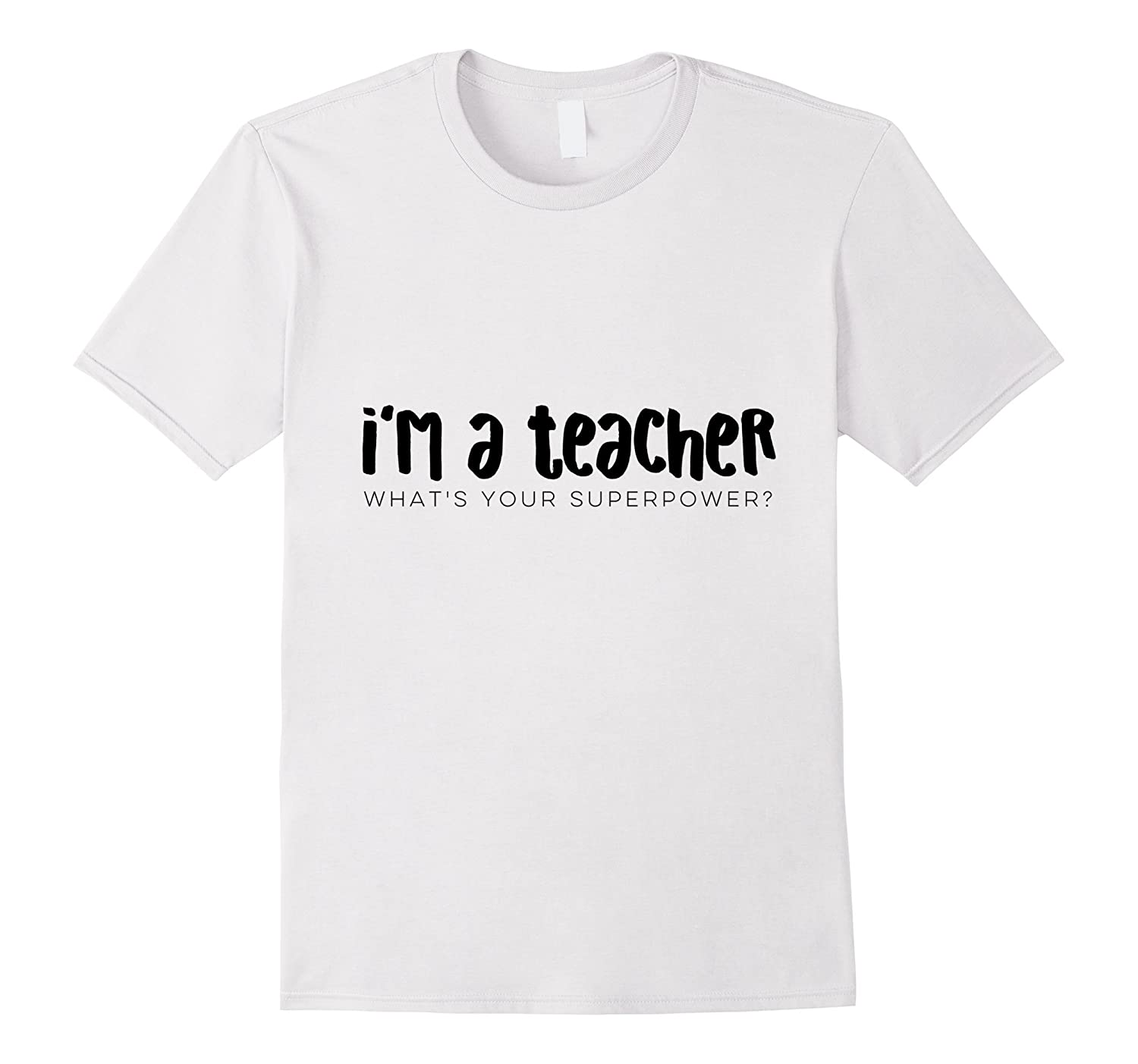 JB Design Co.: Funny Teacher Shirts, Superpower-ANZ