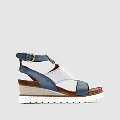 c88f4409509a Mjus Womens Tapas Leather Wedge Heel Sandals  Amazon.co.uk  Shoes   Bags