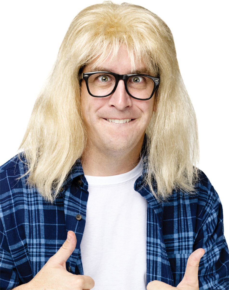 Morris Costumes Snl Garth Algar Wig/Glasses