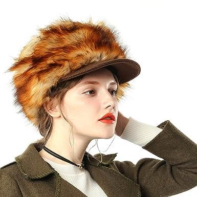 JUNES YOUNG Gorra de Lana Mujer Sombreros de Fieltro Sombrero ...