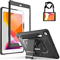ProCase iPad 10.2 8th Gen 2020 / 7th Generation 2019 Rugged Case with Built- in Screen Protector, Shockproof Case Heavy…