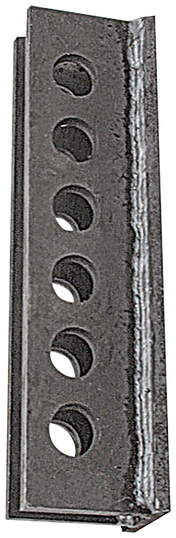 Allstar ALL60168 1/4'' Steel Weld-On Design Hole Pan Hard Bar Bracket - Pair