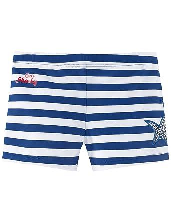 7ab7394353 Schiesser Boy's Aqua Capt´n Sharky Bade-Retro Swim Shorts, Blau (Admiral