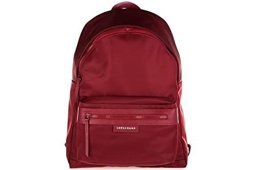 Longchamp mochila bolso de mujer nuevo paris rojo: Amazon.es: Zapatos y complementos