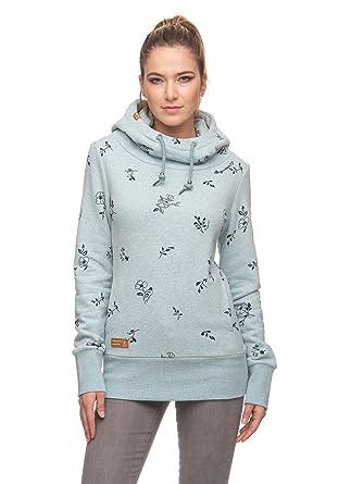 Ragwear Frauen Pullover Yoda Flowers Light Blue Gr. XXL