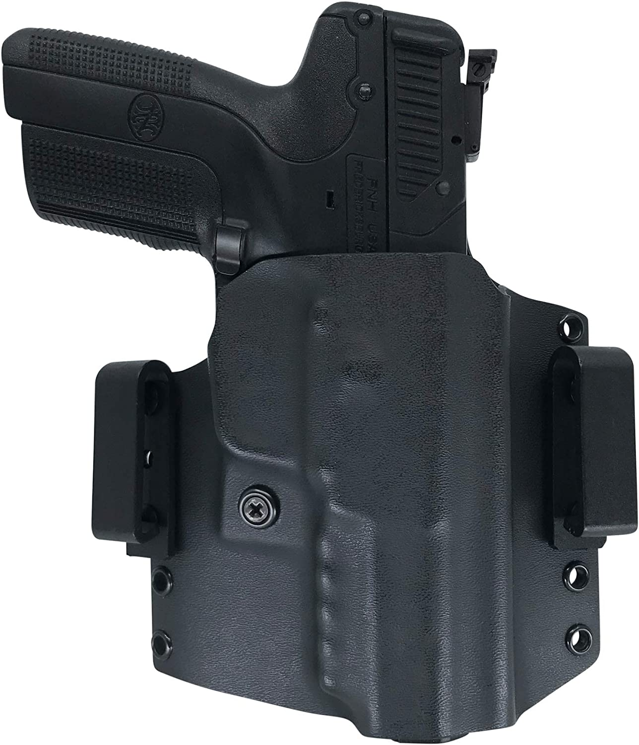 Amazon Com Watchdog Tactical Fn 5 7 Five Seven Holster Right Handed Black Owb Iwb Sports Outdoors