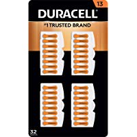 Duracell Hearing Aid Size 13 Batteries, 32 Count