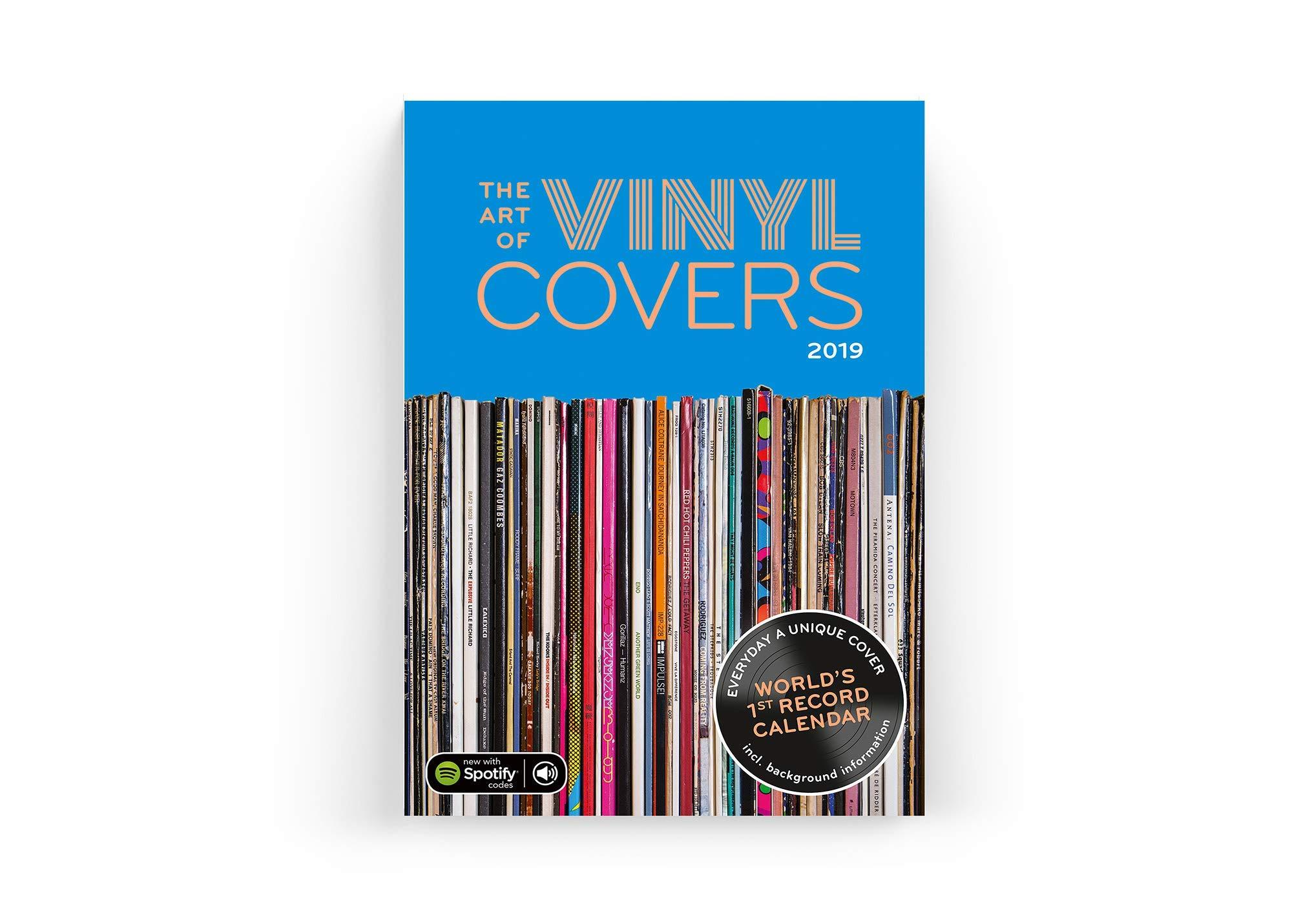 The The Art of Vinyl Covers Calendar 2019 Calendars 2019 ...