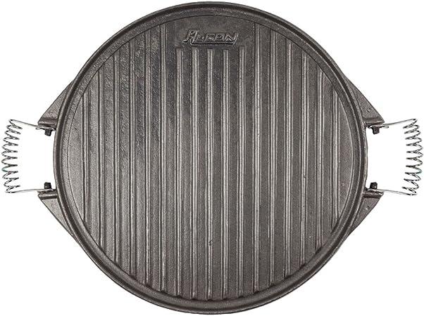 Algon AH53 Plancha de Cocina, 32 cm de diámetro, con Doble Cara ...