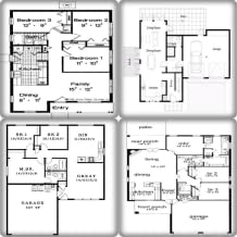 Simple House Blueprints And Plans
