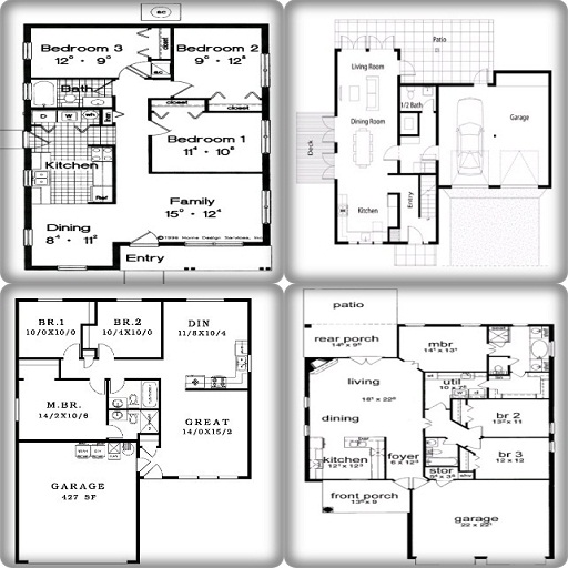 Simple House Blueprints And Plans