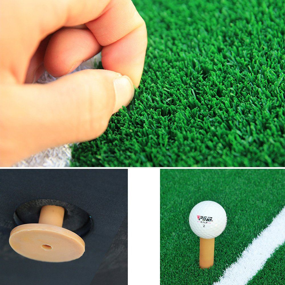 PGM Golf Course Hitting Mat Driving Range Practice Mat----4.92FT X 4.92FT, With Alignment Line, Teaching Equipments by PGM (Image #7)
