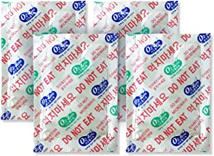 500 CC [210 Packets] Premium Oxygen Absorbers for Food Storage, Oxygen Scavengers Packets(2 Bag of 105 Packets) - ISO 9001 Certified Facility Manufactured