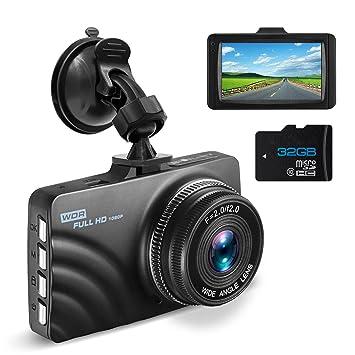 Cámara de salpicadero OldShark 1080P HD para coche con cámara de vídeo de conducción con visión