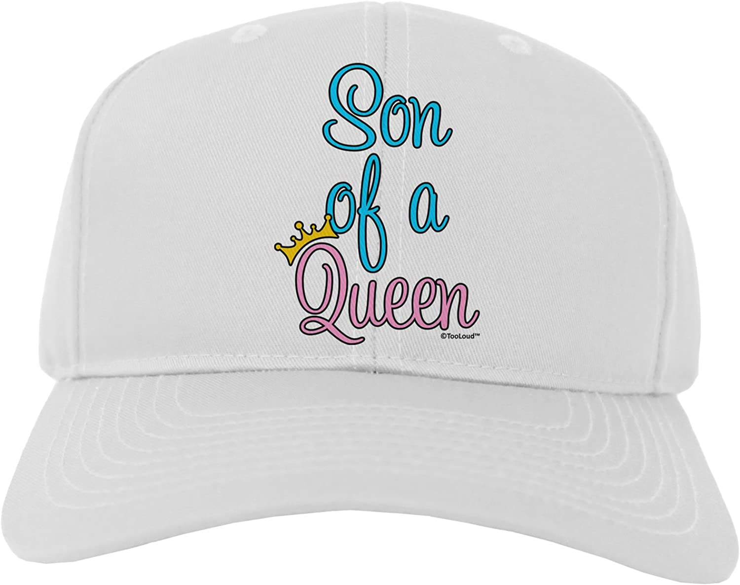 Matching Mom and Son Design Sweatshirt TooLoud Son of a Queen