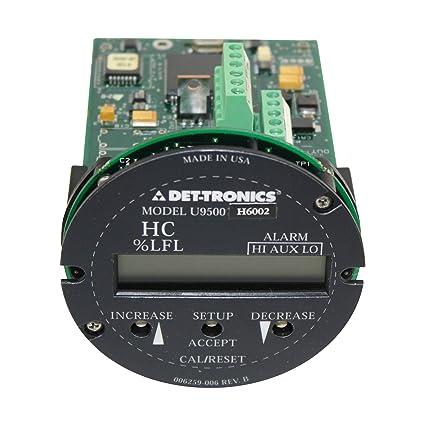Det-Tronics Detector Electronics 006265-003 U9500H6002 Gas Transmitter Device Module - - Amazon.com