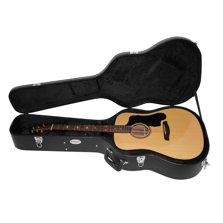 Amazon.com: CC-AHC estuche rígido de Guitarra Acústica ...